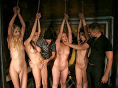 Group training of slaves in the slave school