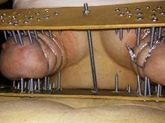 Nails into flesh