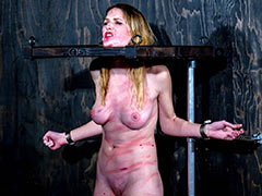 Girl whipped in the dungeon