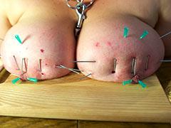 Nailing of big tits