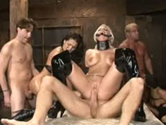 Crazy BDSM orgy