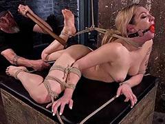 Hog tied torture mistiness