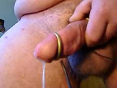 Cum from electrostimulation