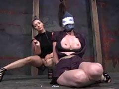 Lesbian serfdom and humiliation