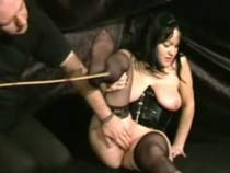 Torture of feet and caning