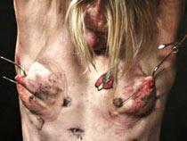 Hooks in breasts