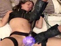Electrified spanking