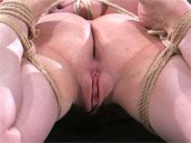 Her first bondage lob