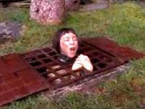 Mei Mara takes harrowing shower