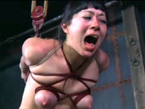 Dominatrix and Asian slut