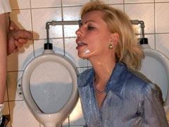 Toilet slave girl