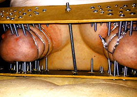 The most cruel tits torture device ever seen