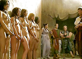 The selection of slaves for a brothel in ancient Rome