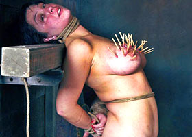 Mother and sadist son family BDSM therapy