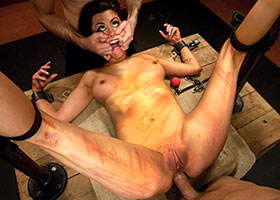 Punishment and group fucking of his wife